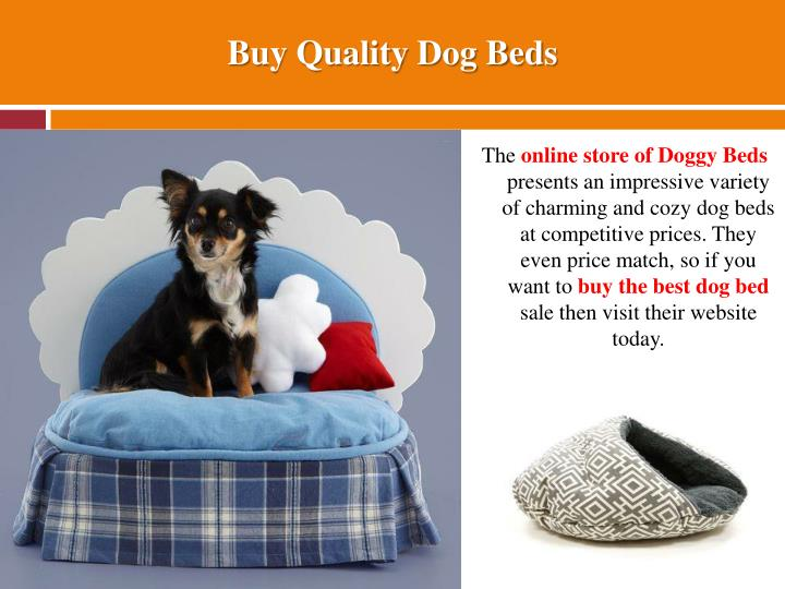 Buy Quality Dog Beds