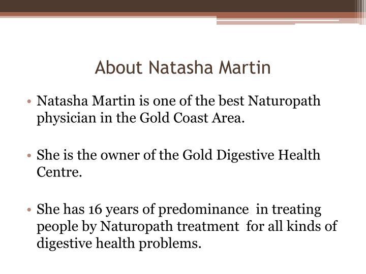 About Natasha Martin