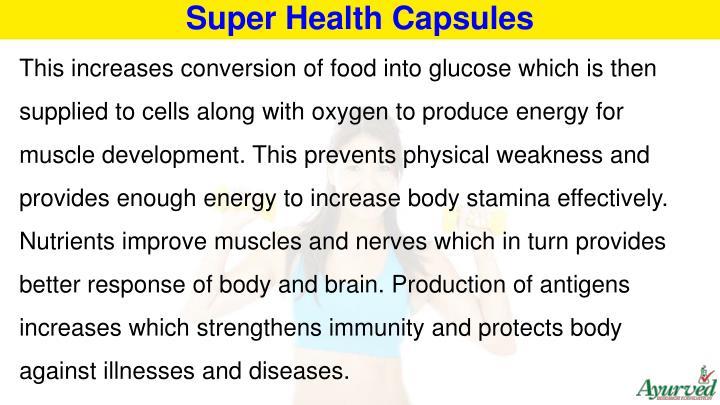 Super Health Capsules