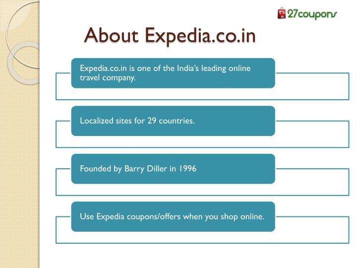 About Expedia.co.in