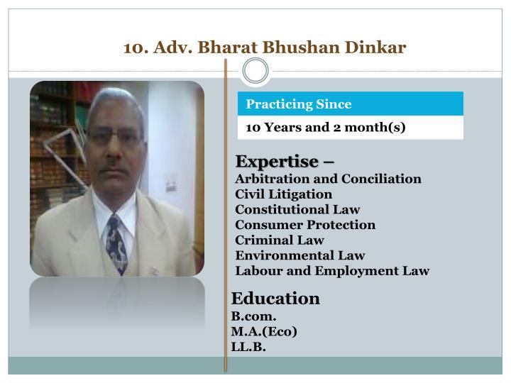 10. Adv. Bharat