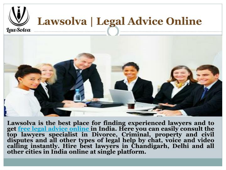 Lawsolva legal advice online