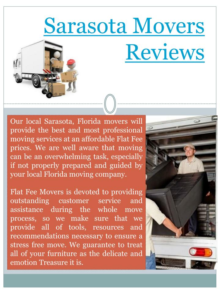 Sarasota Movers Reviews