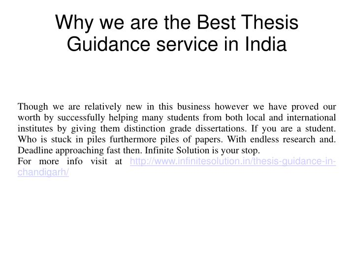 thesis writing services in chandigarh tribune