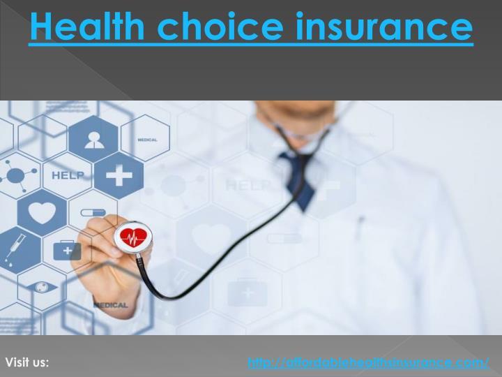 Health choice insurance