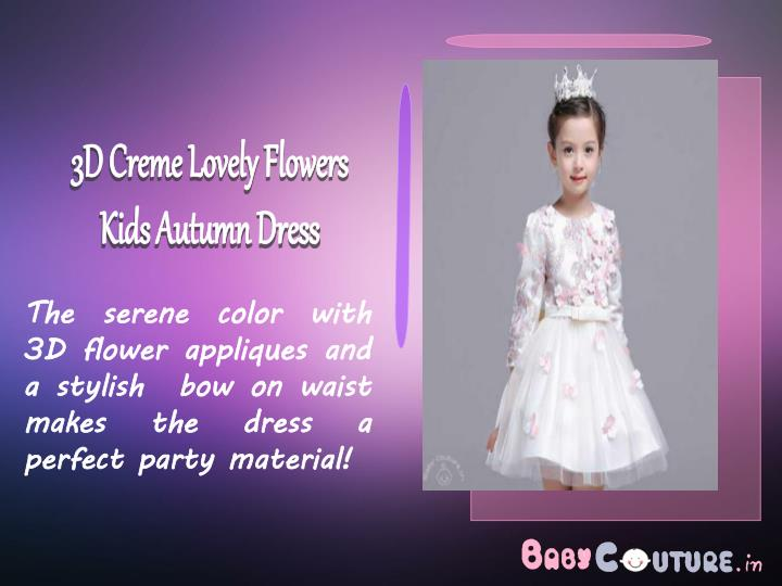 3D Creme Lovely Flowers