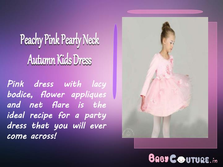 Peachy Pink Pearly Neck