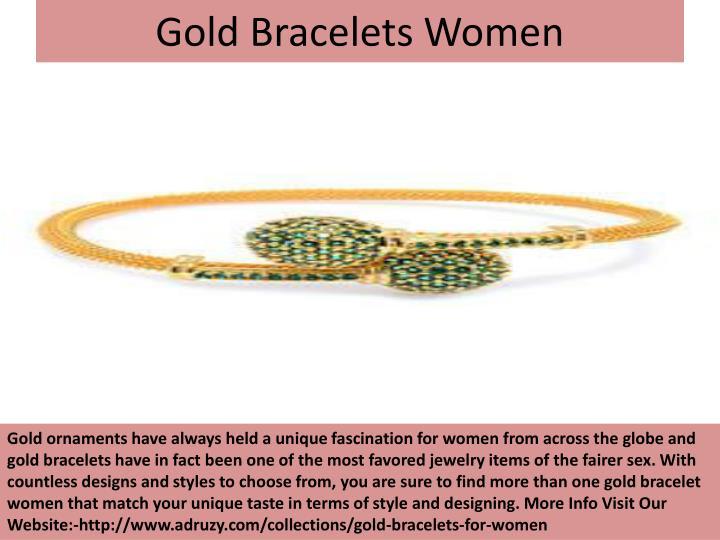 Gold Bracelets Women