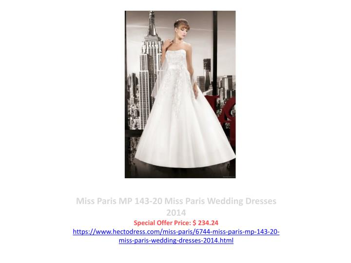 Miss Paris MP 143-20 Miss Paris Wedding Dresses 2014