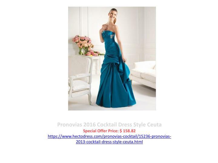 Pronovias 2016 Cocktail Dress Style Ceuta