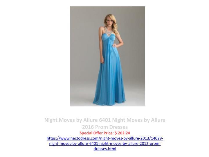 Night Moves by Allure 6401 Night Moves by Allure 2016 Prom Dresses