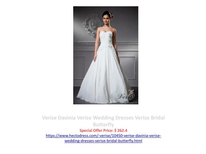 Verise Davinia Verise Wedding Dresses Verise Bridal Butterfly