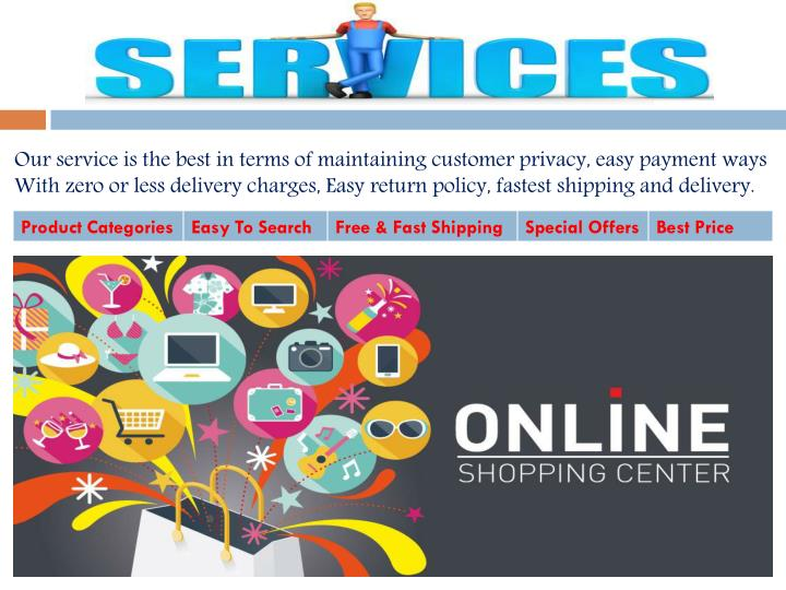 Our service is the best in terms of maintaining customer privacy,