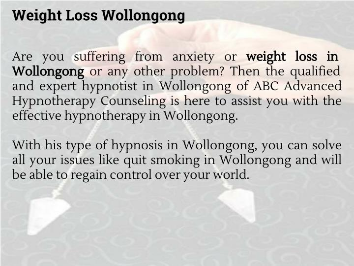 Weight Loss Wollongong