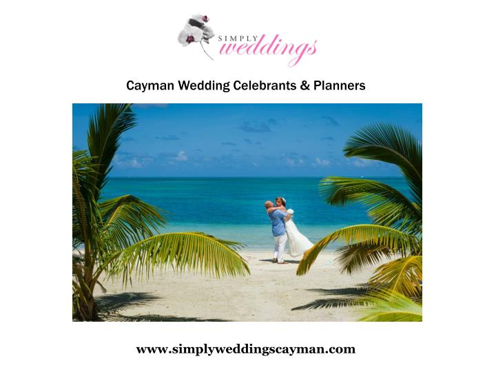 Cayman Wedding Celebrants & Planners
