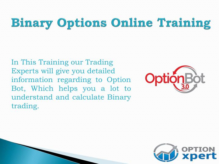 Binary Options Online Training