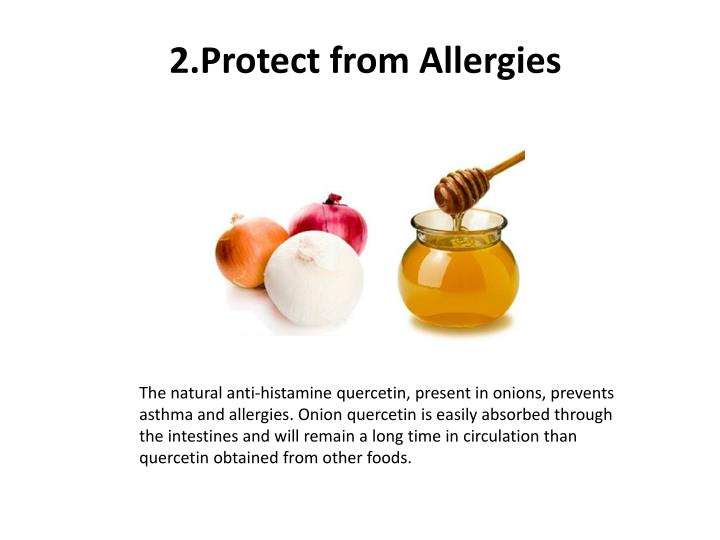2.Protect from Allergies