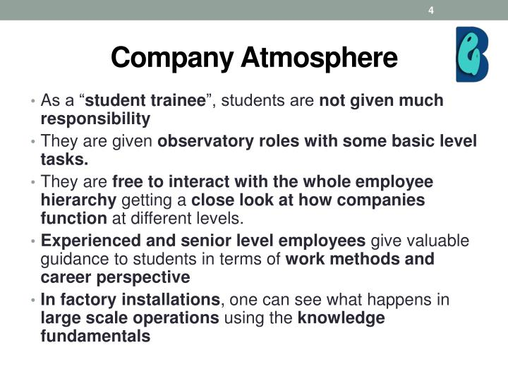 Company Atmosphere