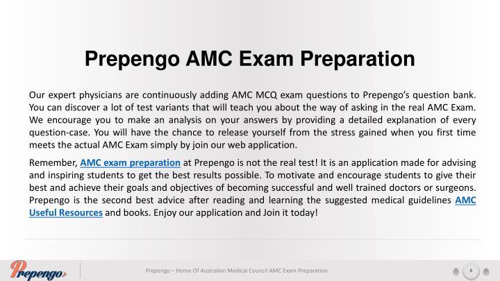 Prepengo AMC Exam Preparation