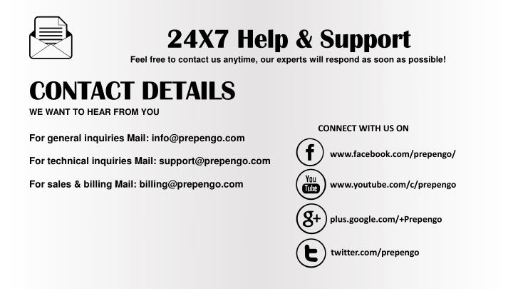 24X7 Help & Support
