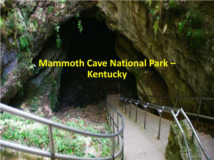 Mammoth Cave National Park – Kentucky