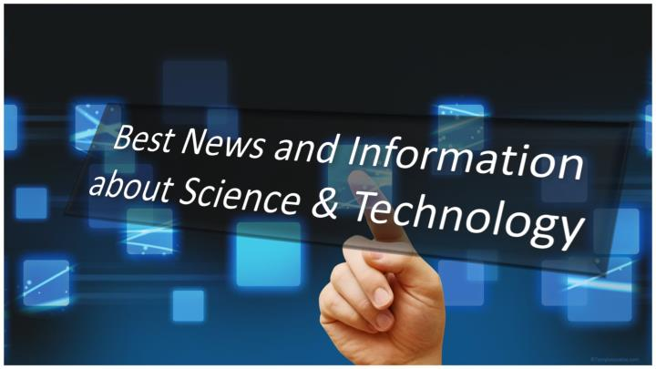 Best news and information about science technology