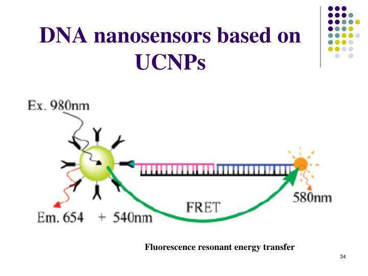 DNA nanosensors based on UCNPs