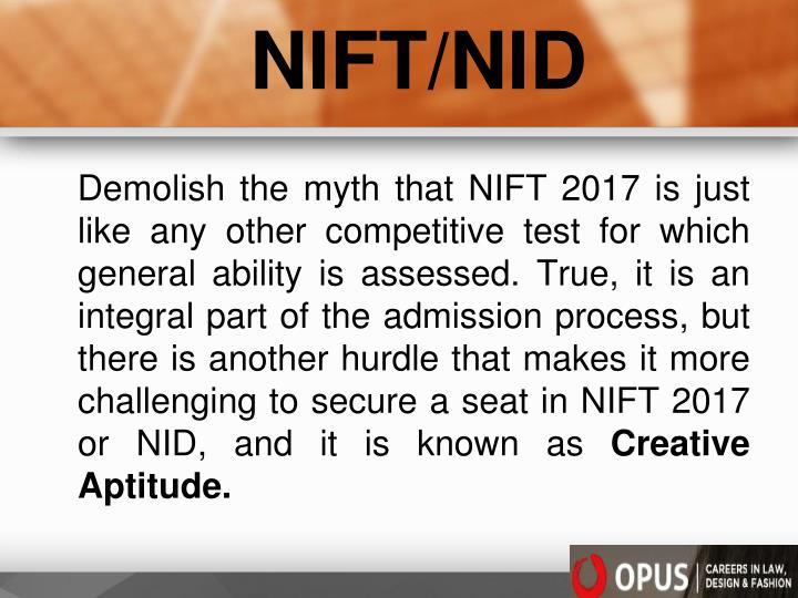 NIFT/NID