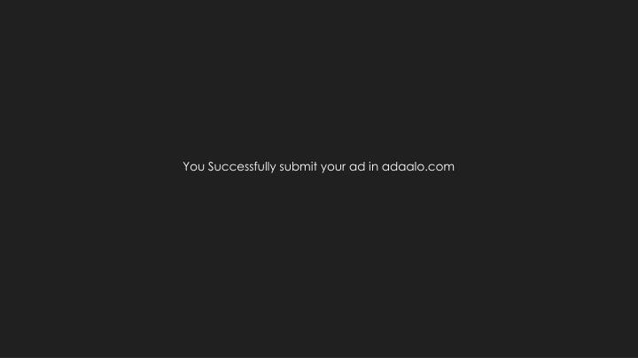 You Successfully submit your ad in adaalo.com