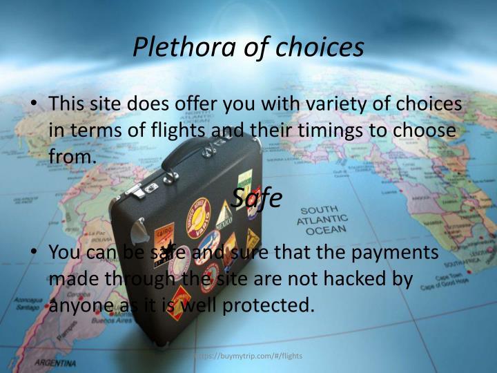Plethora of