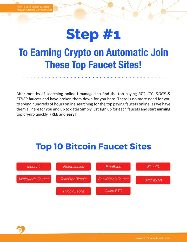 Automated bitcoin faucet - Automatic bitcoin exchange