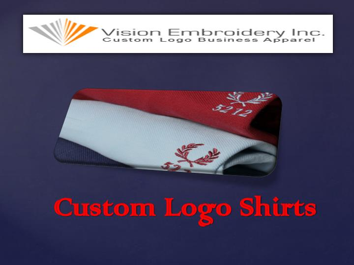 Custom logo shirts