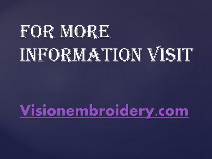 Visionembroidery.com