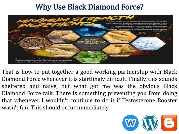 Why Use Black Diamond Force?