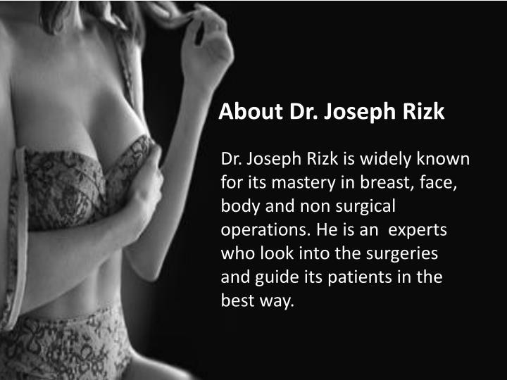 About Dr. Joseph Rizk