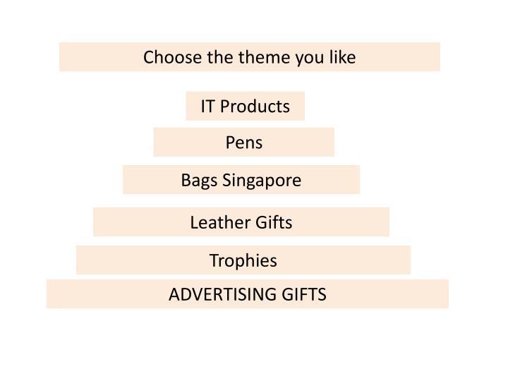 Choose the theme you like