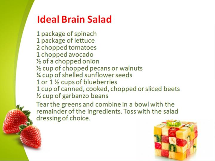 4 tasty salads that boost brain health