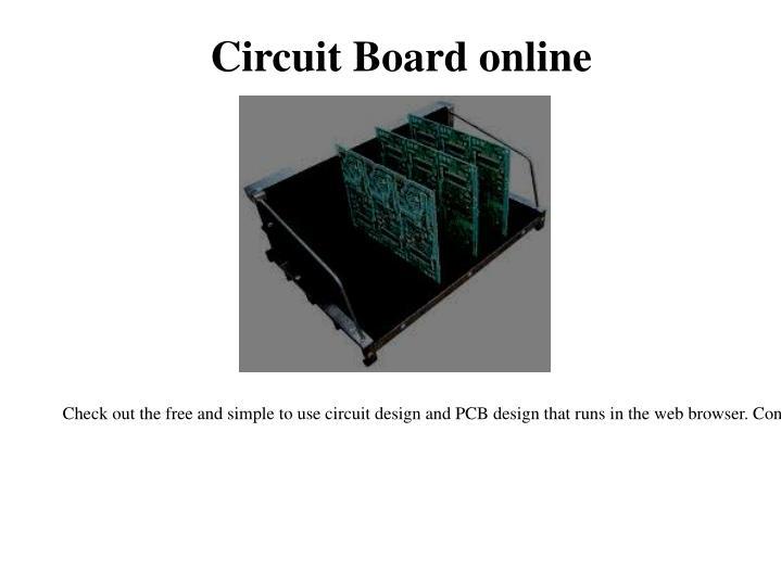 Circuit Board online