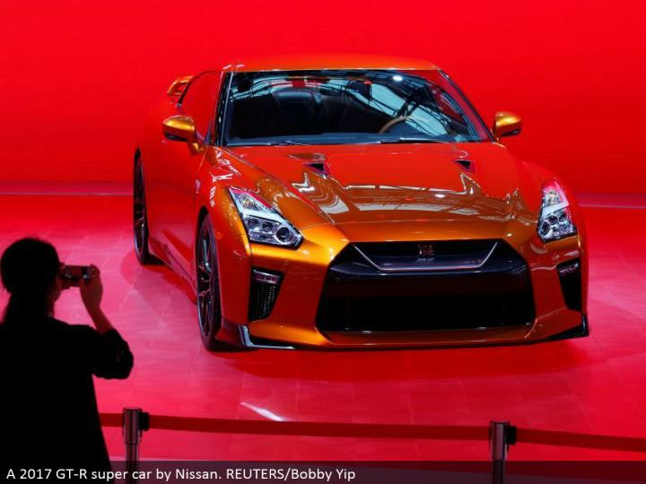 A 2017 GT-R super auto by Nissan. REUTERS/Bobby Yip