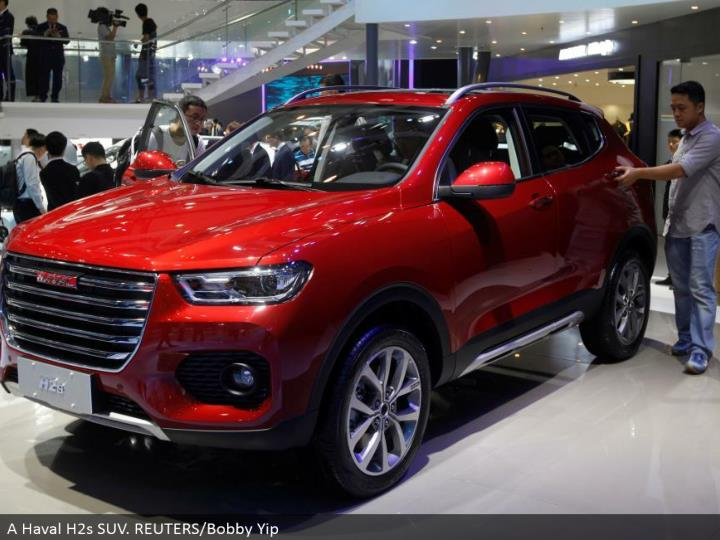 A Haval H2s SUV. REUTERS/Bobby Yip