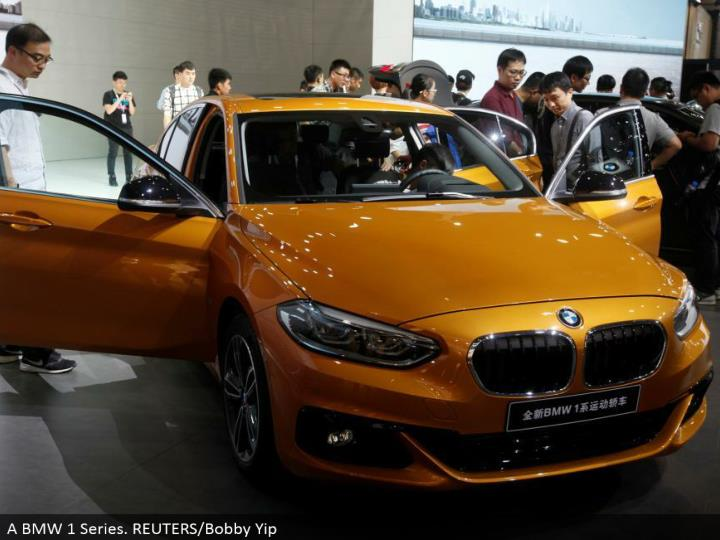 A BMW 1 Series. REUTERS/Bobby Yip