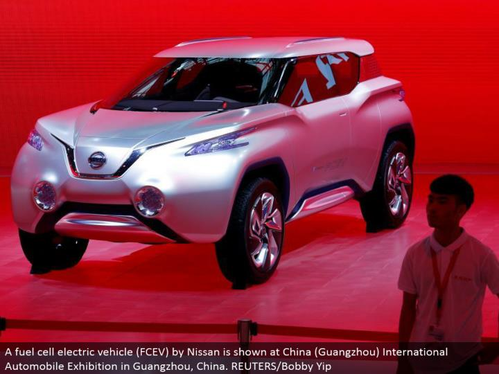A energy unit electric vehicle (FCEV) by Nissan is appeared at China (Guangzhou) International Automobile Exhibition in Guangzhou, China. REUTERS/Bobby Yip
