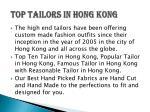 top tailors in hong kong