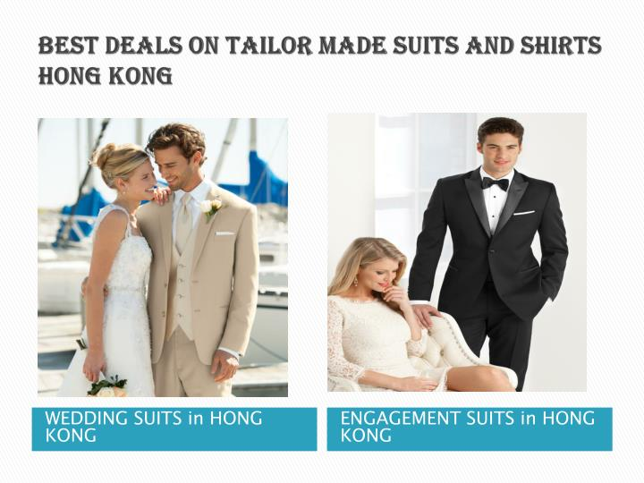 best deals on tailor made suits and shirts Hong Kong