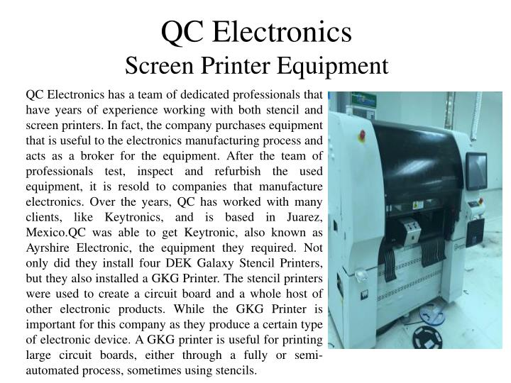 QC Electronics