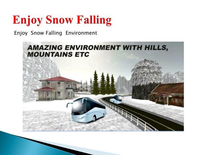 Enjoy Snow Falling