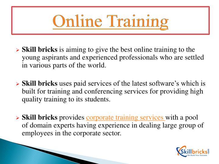 Online Training