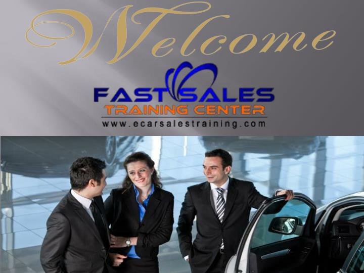 Auto sales training center