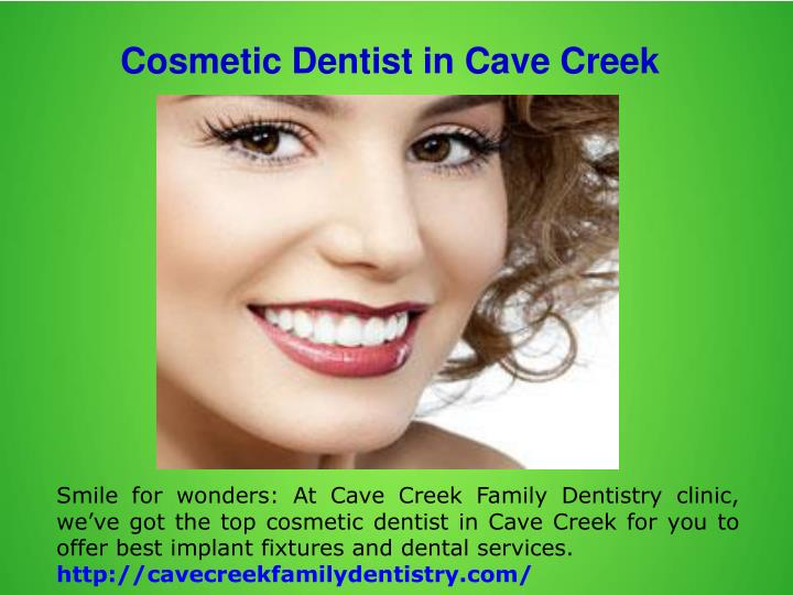 Cosmetic Dentist in Cave Creek