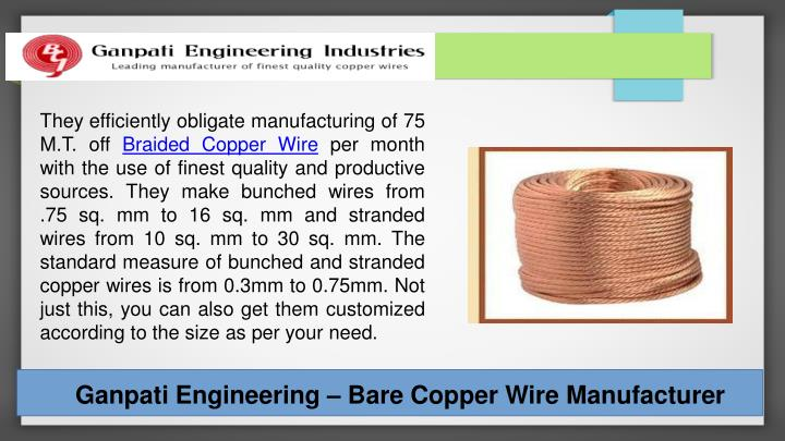 They efficiently obligate manufacturing of 75 M.T. off